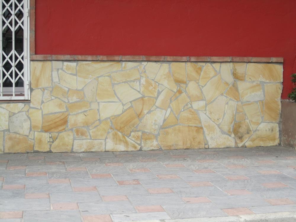 Solados y alicatados eduardo cuevas enchapado en piedra - Zocalos de piedra ...